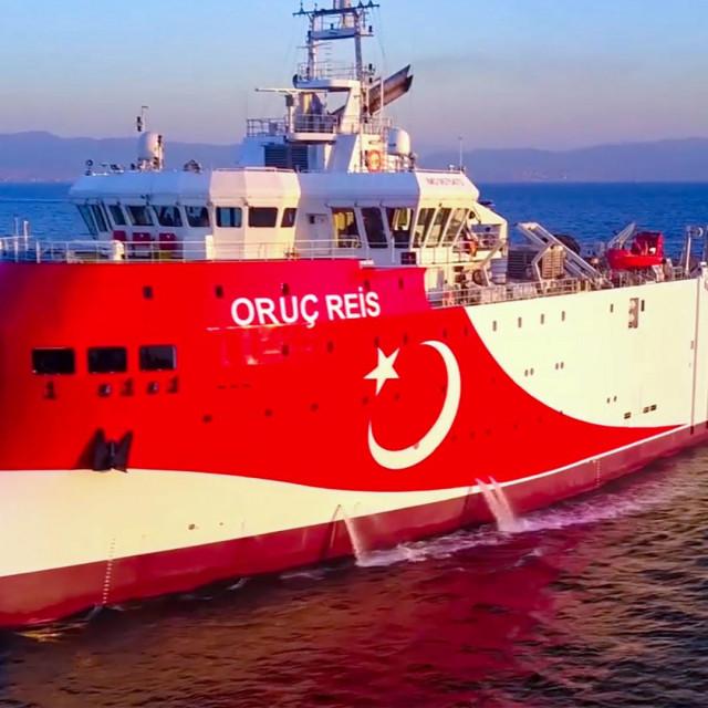 Turski istraživački brod Oruc Reis