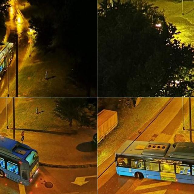 ZET-ov autobus ne može proći kroz podvožnjak kod Huzjanove ulice
