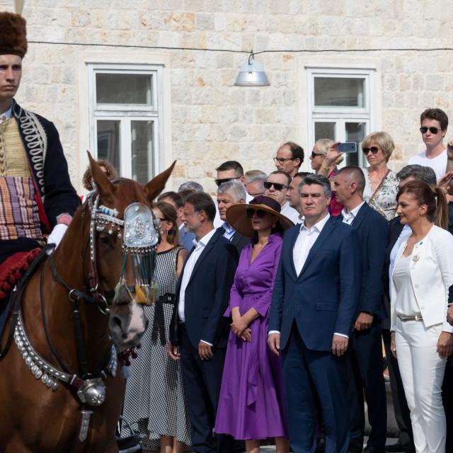 Premijer je i ove godine posjetio tradicionalnu vitešku igru, a nakon toga se zaputio na odmor.