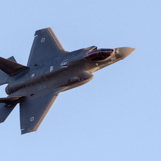 Izraelski F-35 Lightning II (arhivska fotografija)