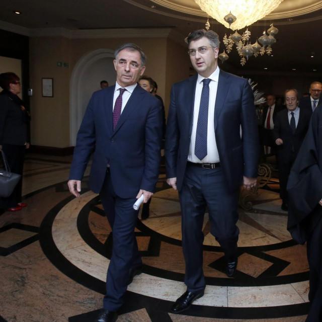 Andrej Plenković, Milorad Pupovac i Porfirije Perić