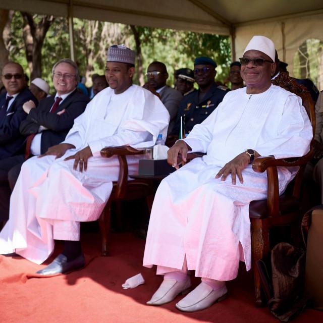 Boubou Cissé i Ibrahim Boubacar Keïta