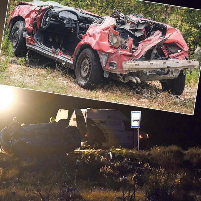 U strašnoj prometnoj nesreći kod Maslenice smrtno stradale dvije sestre, otac i susjeda teško ozlijeđeni