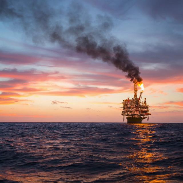 Naftna platforma Corpus Christi u Meksičkom zaljevu