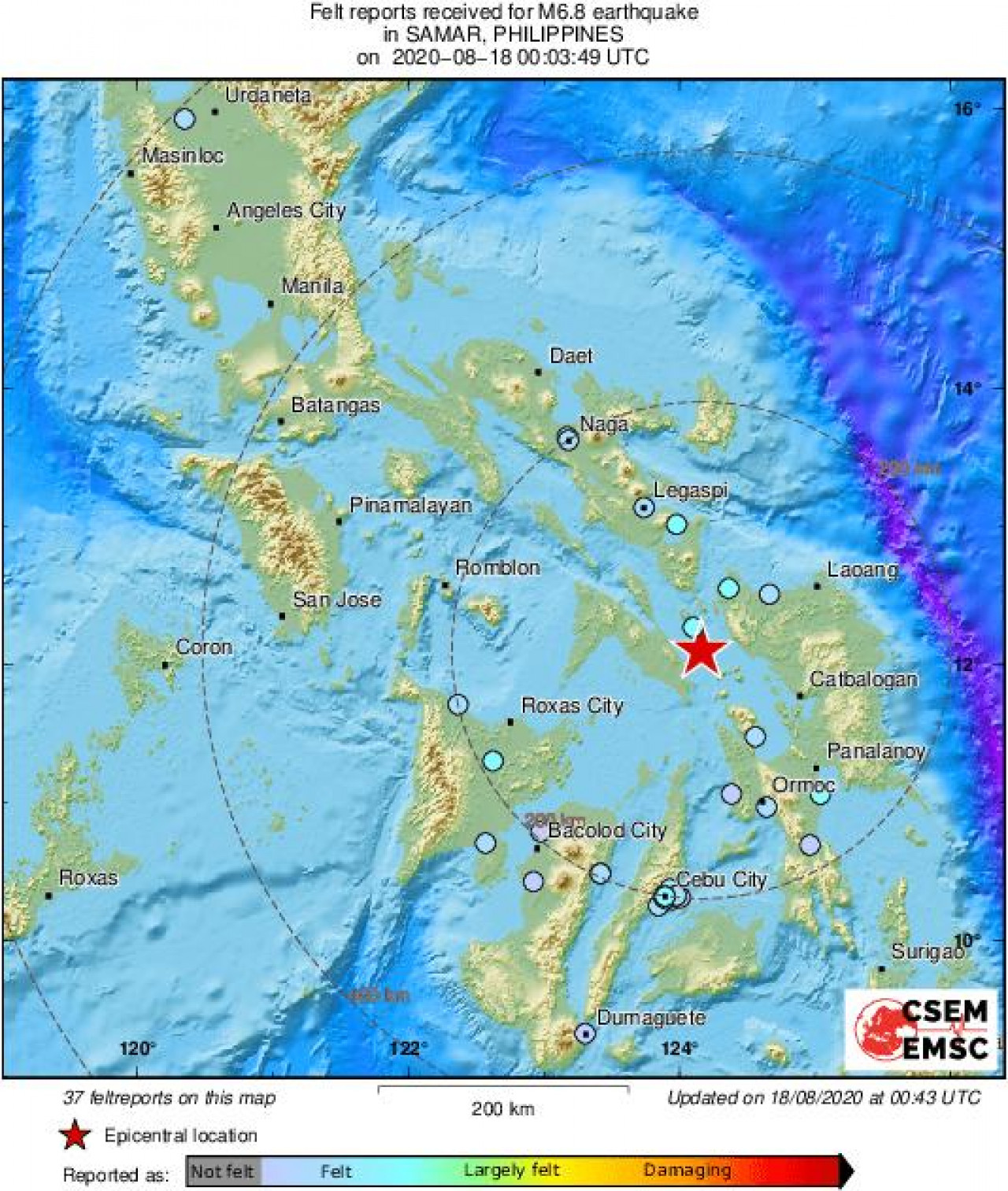 Potres Filipini