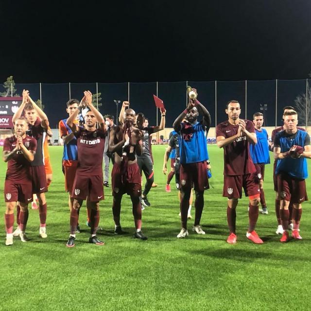 Slavlje nogometaša Cluja