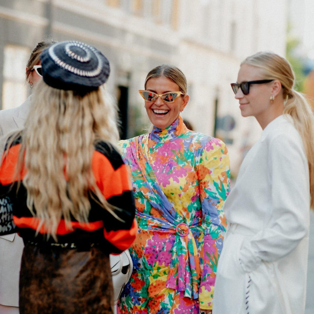 Street style, Janka Polliani arriving at Ganni Spring Summer 2021 show, held at Badsmandsstraede, Copenhagen, Denmark, on August 10th, 2020.,Image: 551765486, License: Rights-managed, Restrictions:, Model Release: no, Credit line: Bertrand-Hillion Marie-Paola/ABACA/Abaca Press/Profimedia