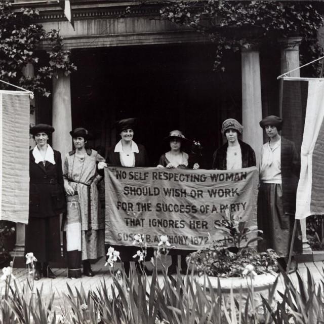 Sufražetkinje 1920. godine