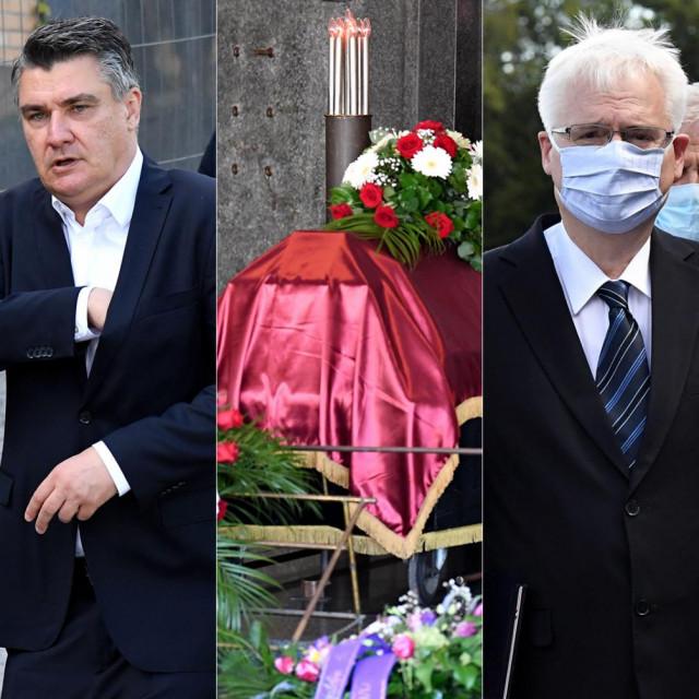 Stipe Mesić; Zoran Milanović; Ivo Josipović; Milan Bandić