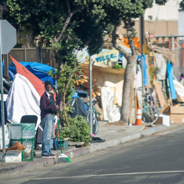 Beskućnici u Los Angelesu