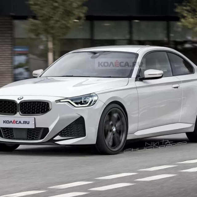 Render BMW 2 Coupe