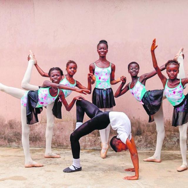 Studenti prve baletne akademije u Nigeriji
