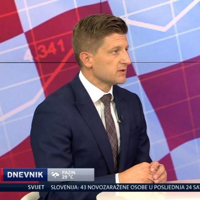 Ministar financija Zdravko Marić u Dnevniku NoveTV