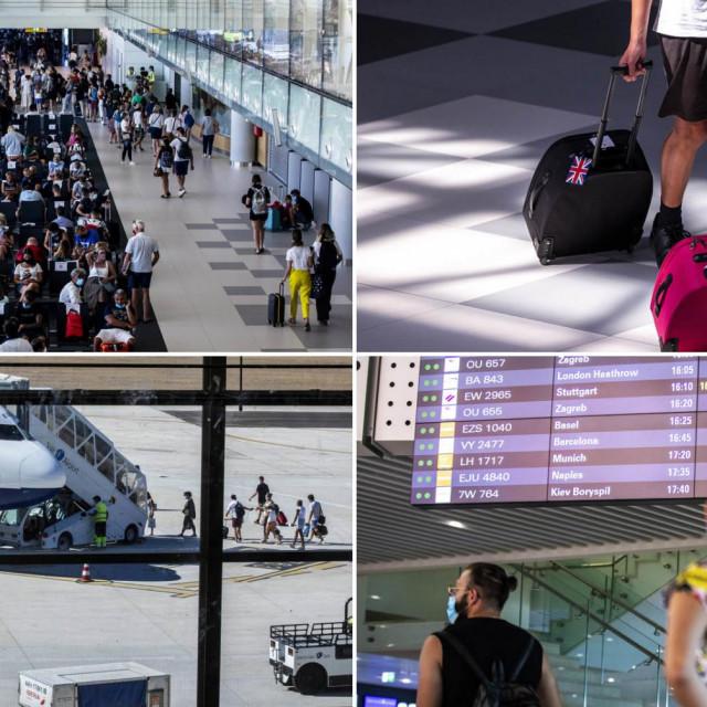 Gužva u splitskoj zračnoj luci