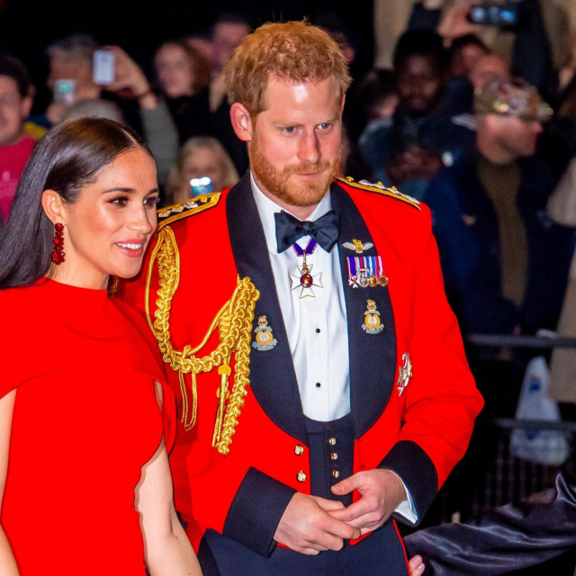 Prince Harry and Meghan, Duke and Duchess of Sussex attend The Mountbatten Festival of Music at the Royal Albert Hall in London.<br /> 07 Mar 2020,Image: 504393638, License: Rights-managed, Restrictions: NO Netherlands, Model Release: no, Credit line: MEGA/The Mega Agency/Profimedia
