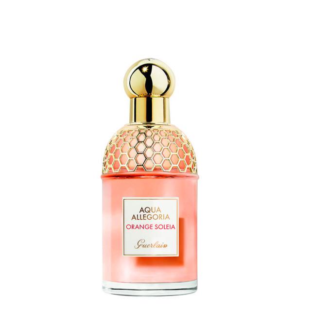 Aqua Allegoria Orange Soleia aromatični je spoj crvene naranče, ružičastog papra i metvice Edt. 75 ml, 599 kn GUERLAIN