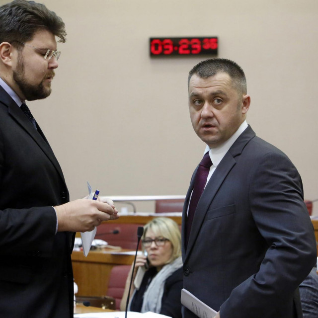 Pedja Grbin i Igor Dragovan