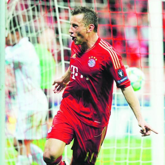 Ivica Olić iz vremena dok je igrao u Bayernu
