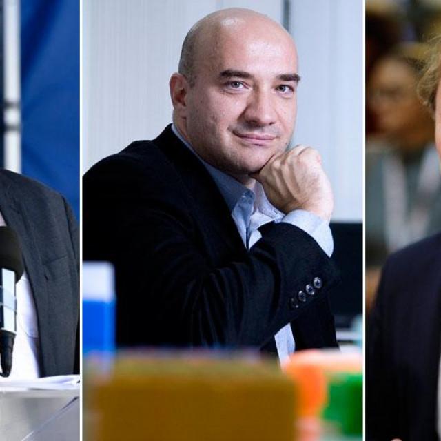 Krunoslav Capak, Gordan Lauc, Ivan Đikić