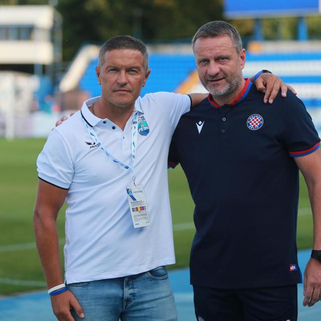 Ivica Kulešević i Hari Vukas