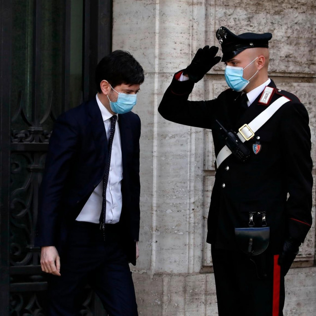 Talijanski ministar zdravstva Roberto Speranza