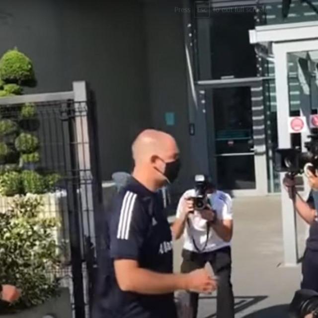 Igor Tudor u kampu Juventusa