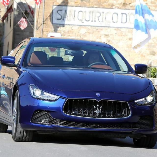 Maserati Ghibli 2015.