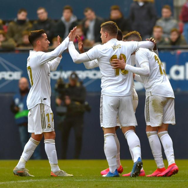 Luka Jović slavi jedan od rijetkih golova u sezoni