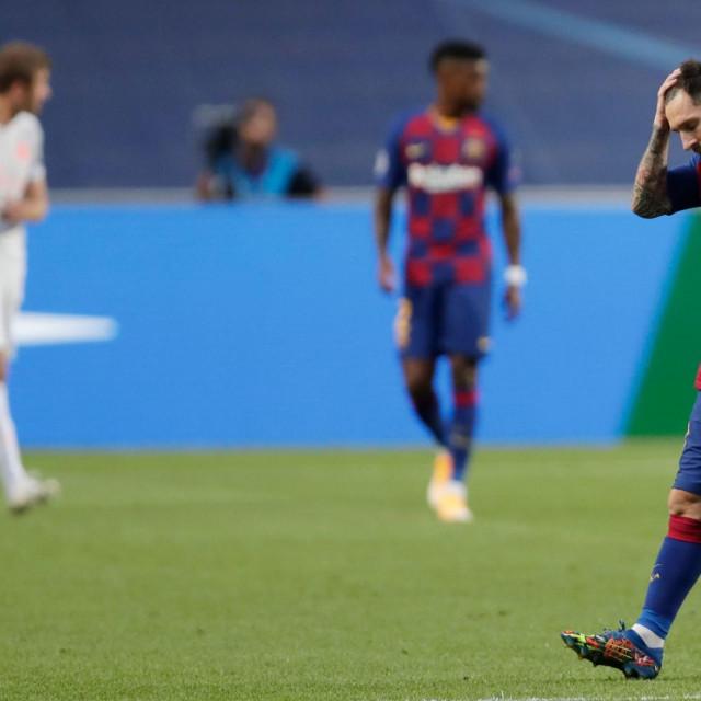Zadnja utakmica za Barcu: Messi nakon debakla protiv Bayerna