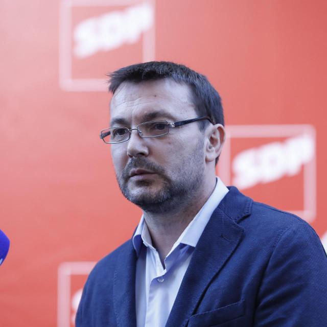 Arsen Bauk, predsjednik Kluba zastupnika SDP-a