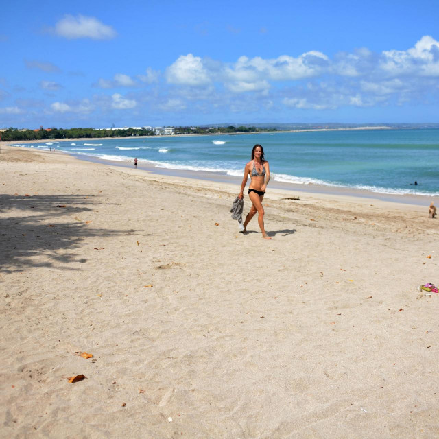 Plaža Kuta na Baliju