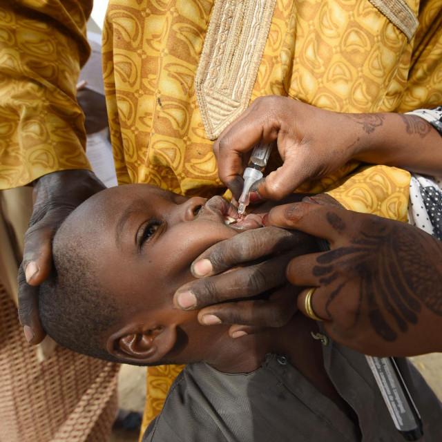 Cijepljenje protiv polio virusa u Nigeriji
