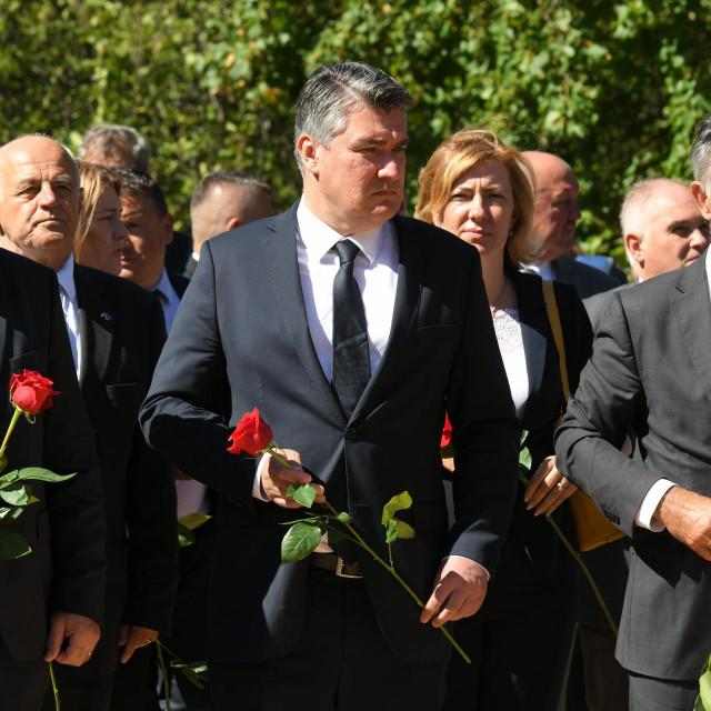 Tomo Medved, Zoran Milanović, Milorad Pupovac
