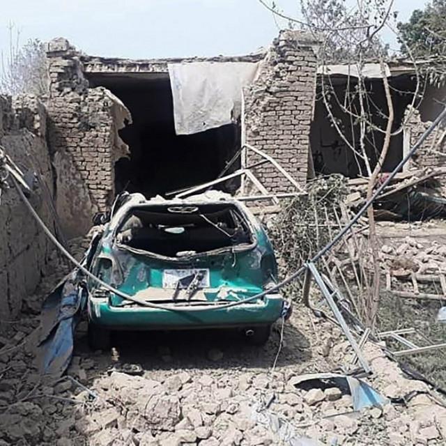 Posljedice terorističkog napada u Afganistanu
