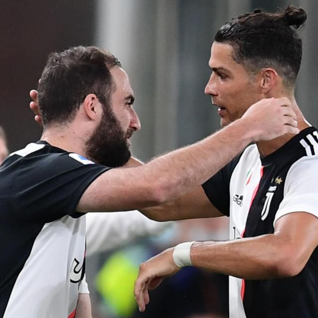 Gonzalo Higuain i Cristiano Ronaldo završavaju suradnju u Serie A