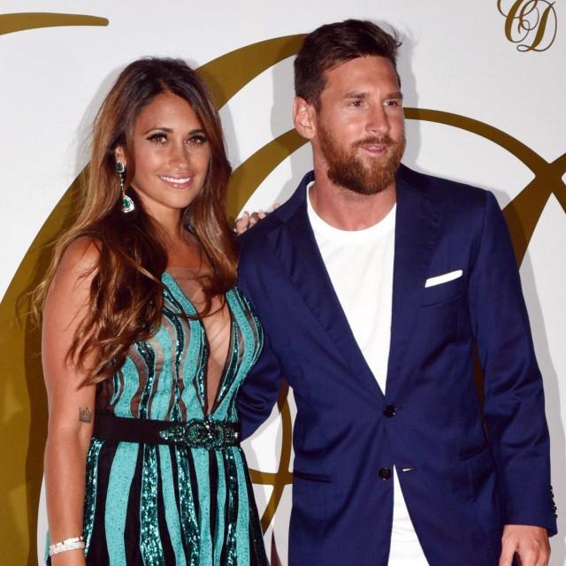 Lionel Messi i supruga Antonela