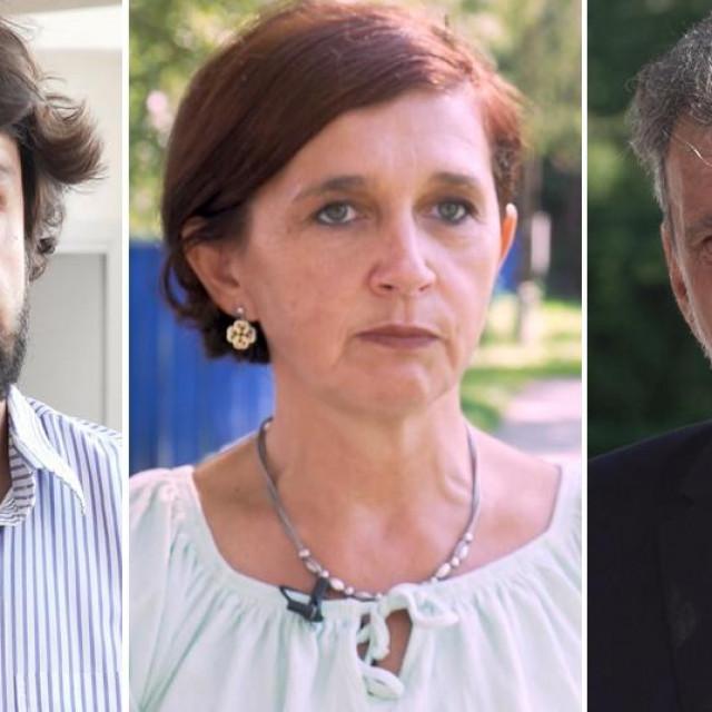 Boris Jokić, Nataša Jelača, Radovan Fuchs
