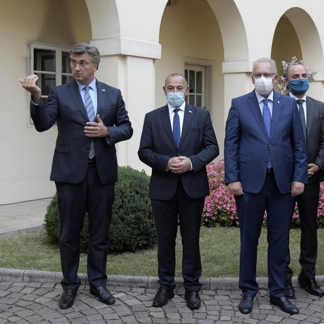 Andrej Plenković, Tomo Medved, Davor Božinović, Boris Milošević, Gordan Grlić Radman, Radovan Fuchs, Marija Vučković