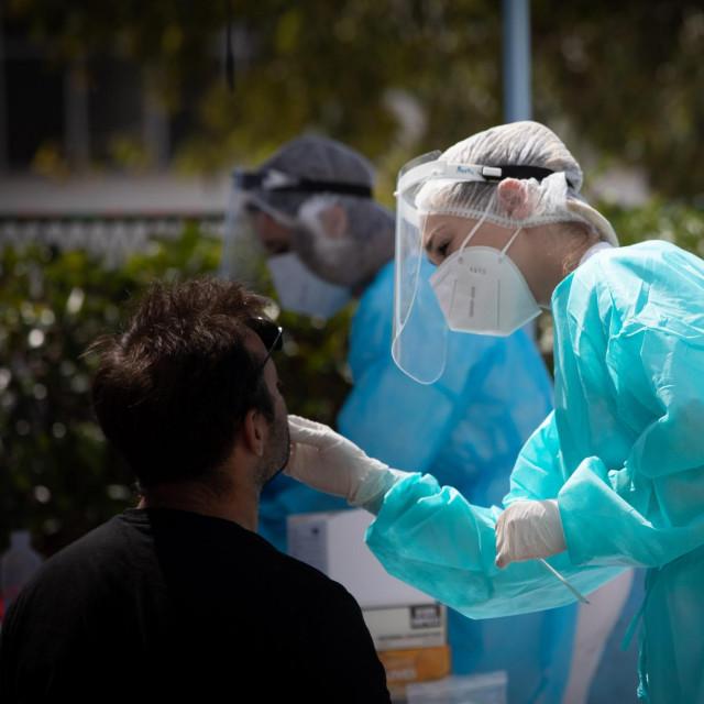 Testiranje na koronavirus u Splitu