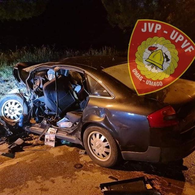 Teška prometna nesreća kod Umaga