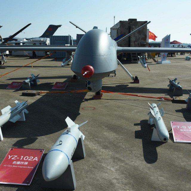 Wing Loong II dron