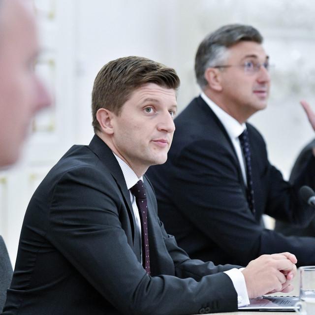 Zdravko Marić, Andrej Plenković