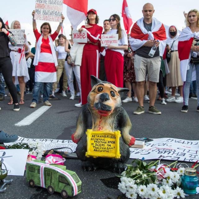 Prosvjed u Minsku