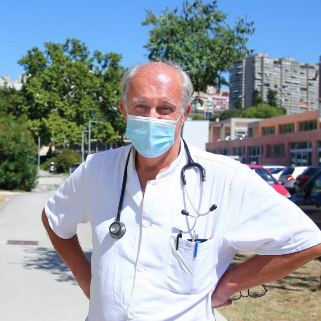 Predstojnik Zavoda za infektivne bolesti splitskog KBC-a dr. Ivo Ivić