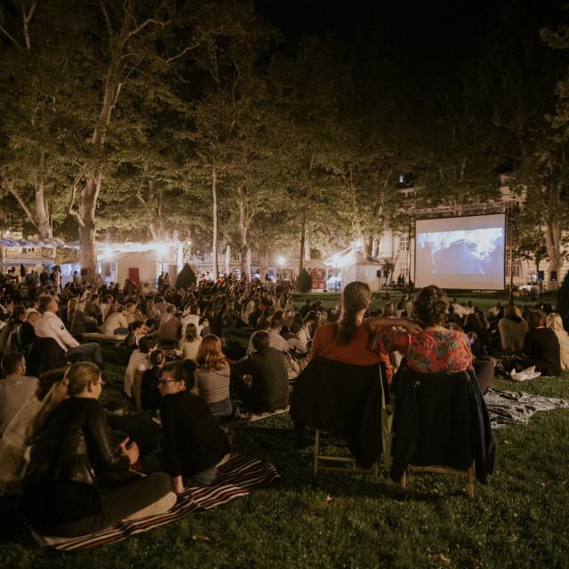 Kino pod zvijezdama u najljepšem zagrebačkom parku
