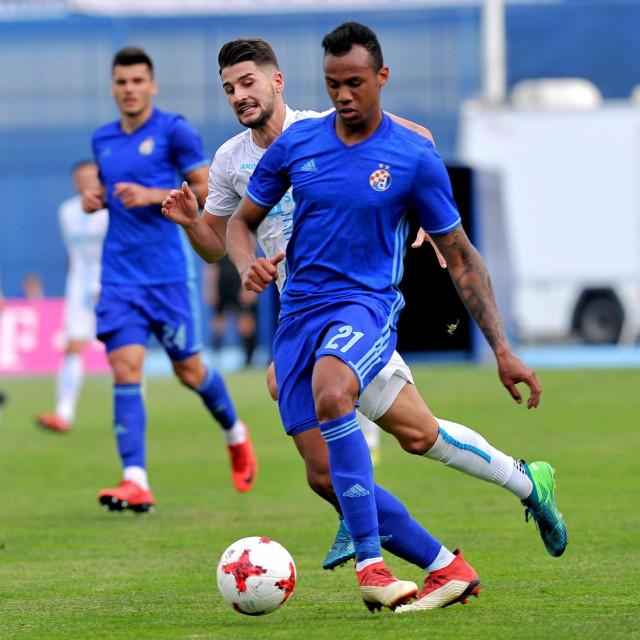 Gabriel u Dinamovom dresu protiv Rijeke