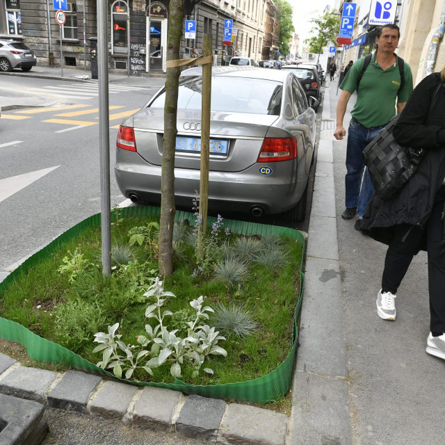 Mini vrt u Preradovićevoj