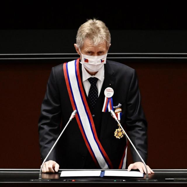 Miloš Vystrcil u tajvanskom parlamentu