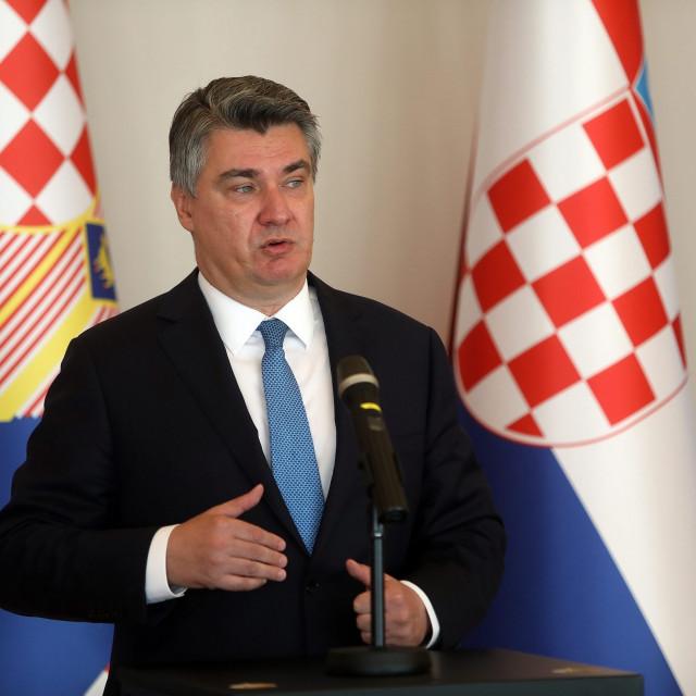 Predsjednik RH Zoran Milanović