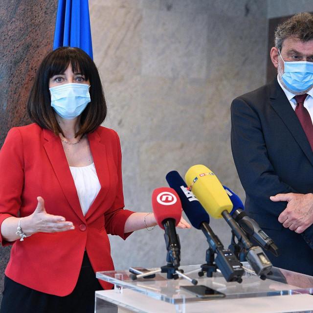 Blazenka Divjak i Radovan Fuchs (arhiva)